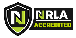 NLA logo Acredited
